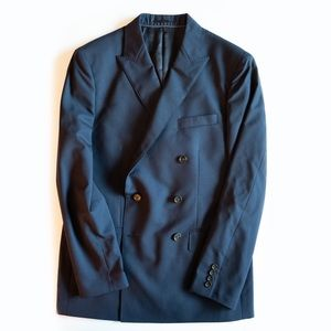 J.Crew Ludlow Men's Double Breasted Blazer
